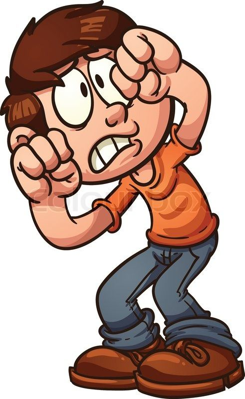 Cartoon Characters Facing Forward : Cartoon people with scared faces google search pyramid