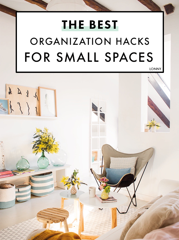 The 25 Best Organization Hacks For Small Spaces On Pinterest Small Bedroom Storage Minimalist Bedroom Furniture Small Spaces