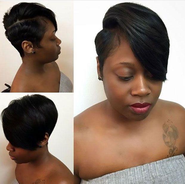 black women short hairstyles Cute