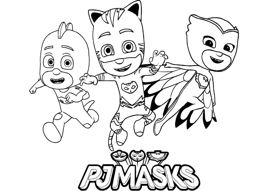 Pj Masks Ausmalbilder Ausmalbilder Ausmalen Ausmalbilder Kinder