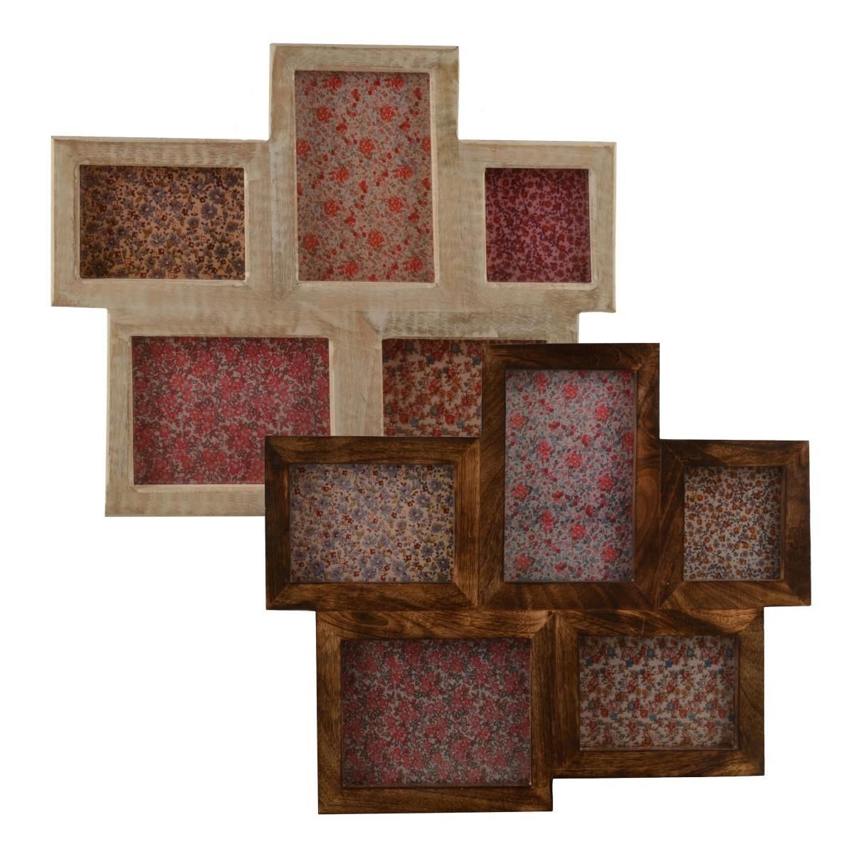 Wooden Quintuple Photo Frame | Jungle room, Room and House