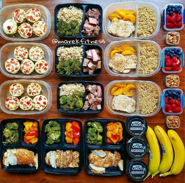Instagram La Nueva Moda De Fotografiar Comidas Sanas Para Dejar Listas De Una Vez Meal Prep On Fleek Meals Meal Prep
