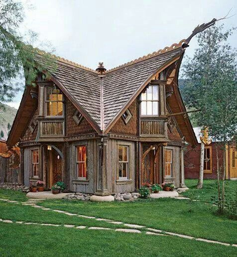 Viking Nordic Style House Viking House Fairytale House Storybook Cottage