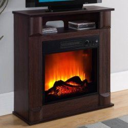 Electric Fireplaces at Walmart from 35 free shipping w 50