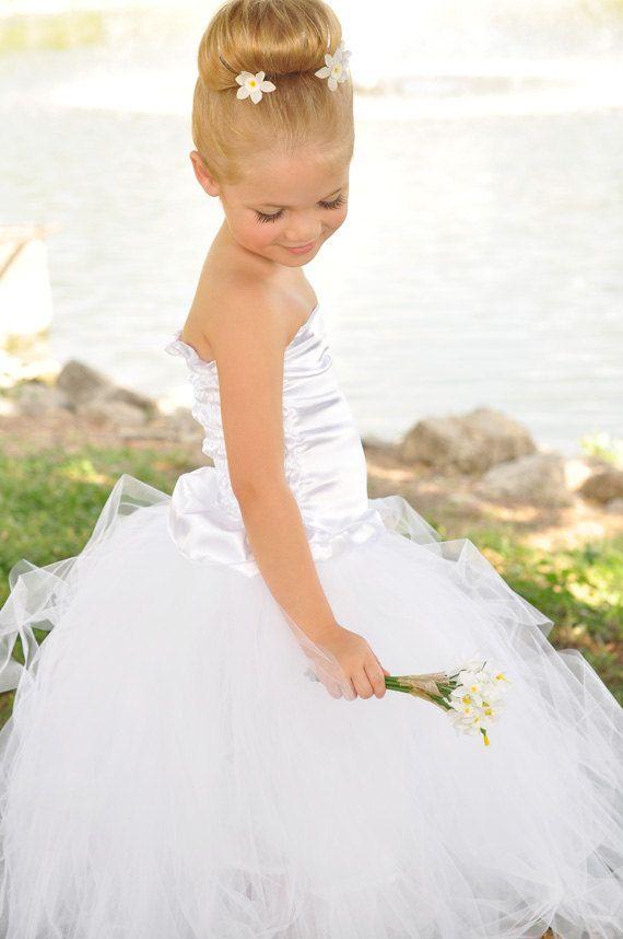 Love This Hair Style For A Little Girl Wedding Dream Wedding