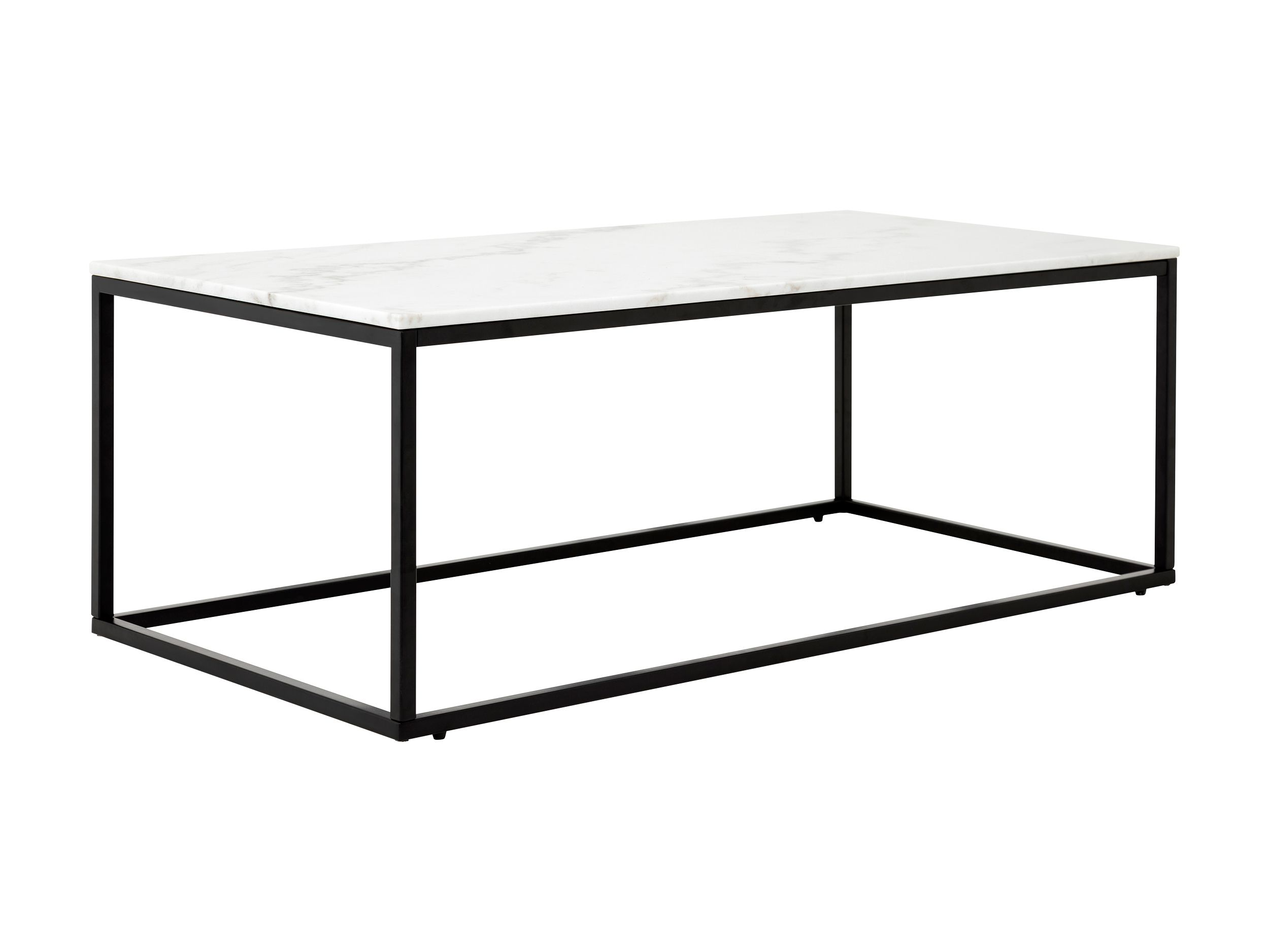 Slim Irony Couchtisch Carrie Soffbord 120 Marmor Grå Svart Bord Table Elegant Table