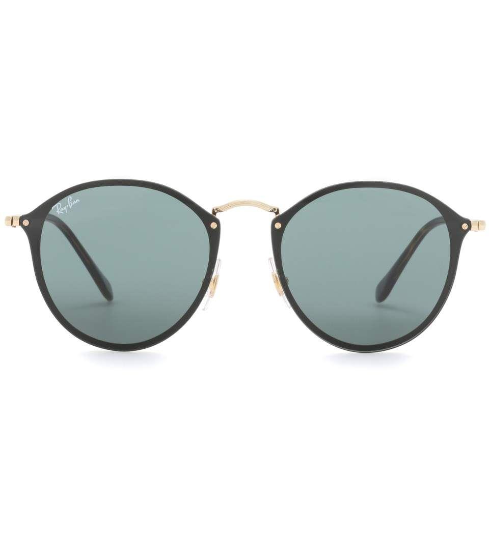 Ray Ban RB3574 Blaze Round sunglasses | Sunglasses | Pinterest ...