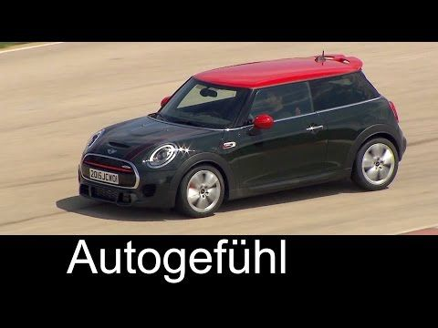 2016 Mini F56 Jcw 231hp Drive Sound 60fps Youtube Cars