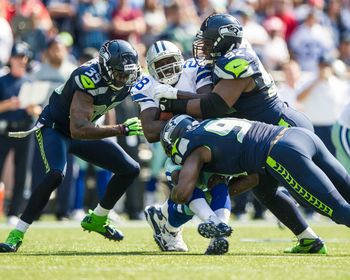 Seahawks Defense Picture at Seattle Seahawks Photo Store