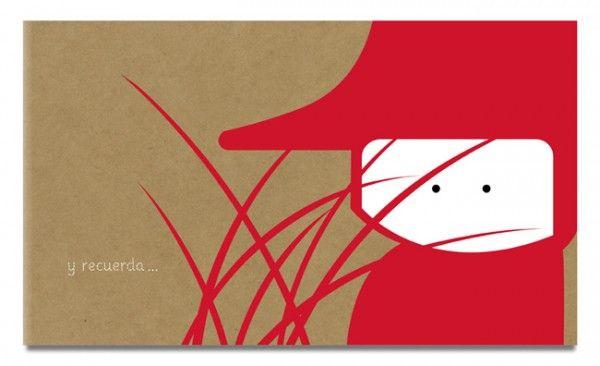El camino a través del bosque que hace la pequeña caperucita roja para ir a casa de su abuela. A través de los pasajes creados por los Grimm: La entrada al bosque, el encuentro con lobo seductor que finalmente se la comé junto a a su abuela. El cazador que las rescata llenando al lobo el vientre de piedras y el regreso a su casa.