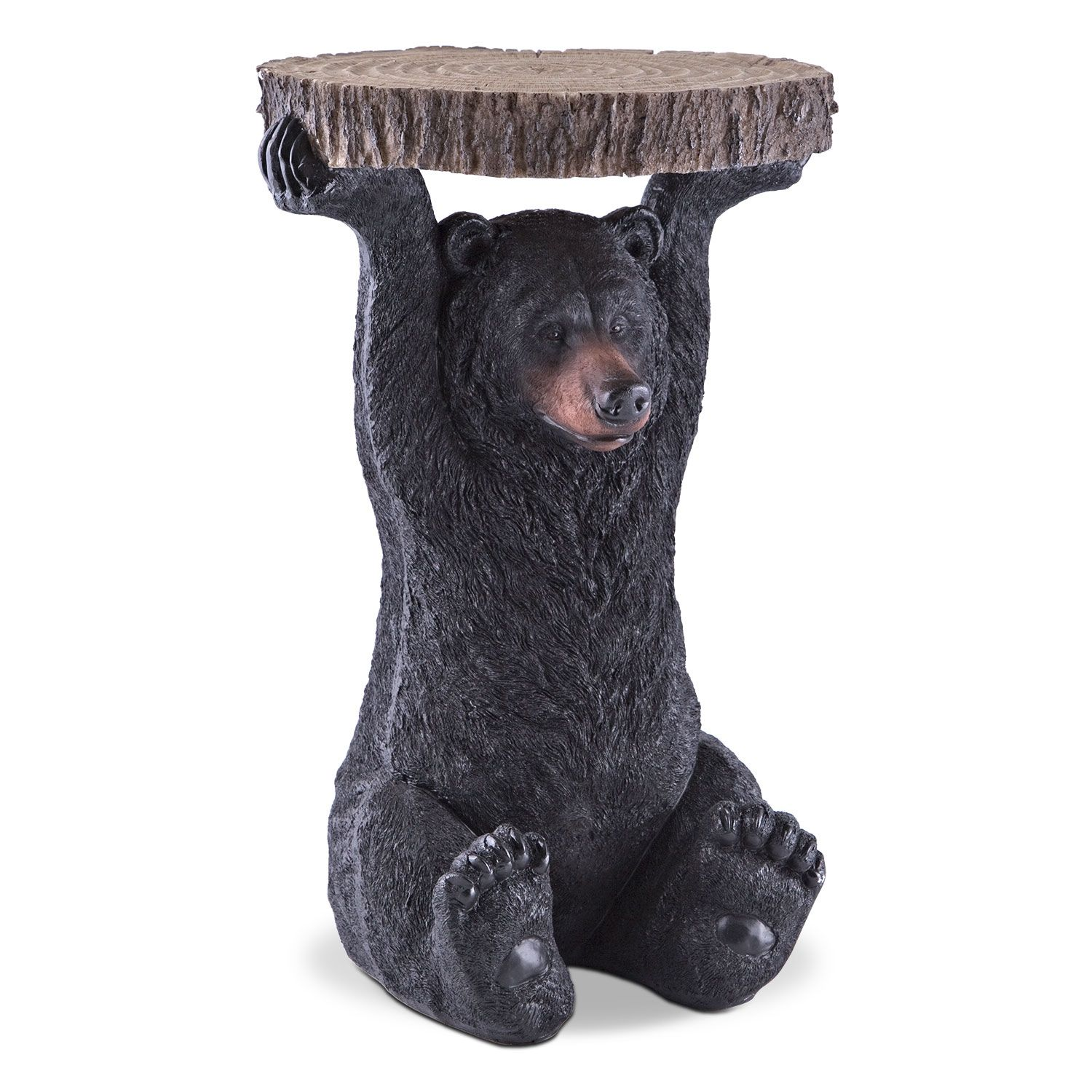 Accent And Occasional Furniture   Black Bear Accent Table