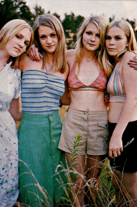 "1970s vintage used in ""The Virgin Suicides""."