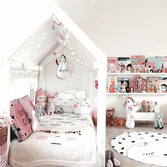 Inspiration girly room, bonbon rose Lucky Boy Sunday, meisjes ...