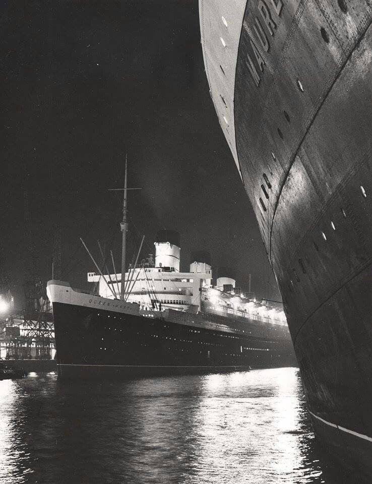 Queen Mary and Mauretania II
