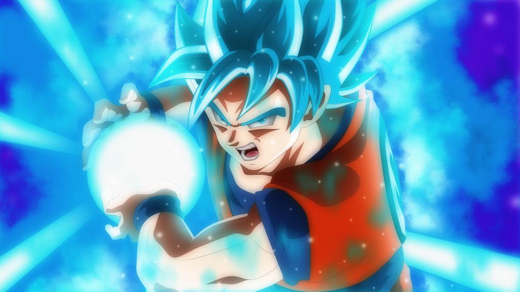Goku Kamehameha By Rmehedi Goku Super Saiyan Blue Dragon Ball Super Wallpapers Anime