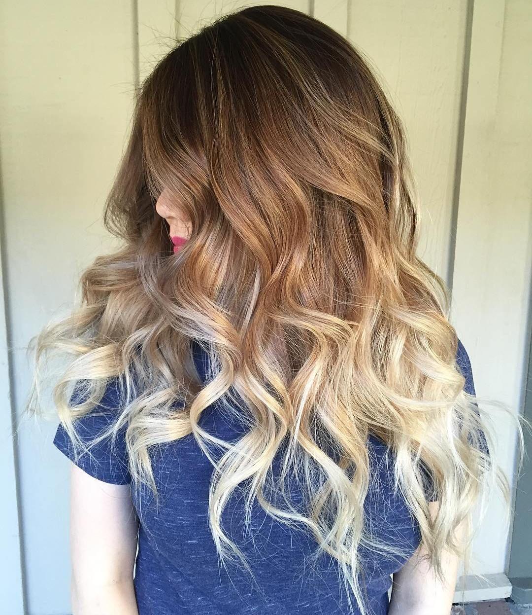 Frisur ombre hair