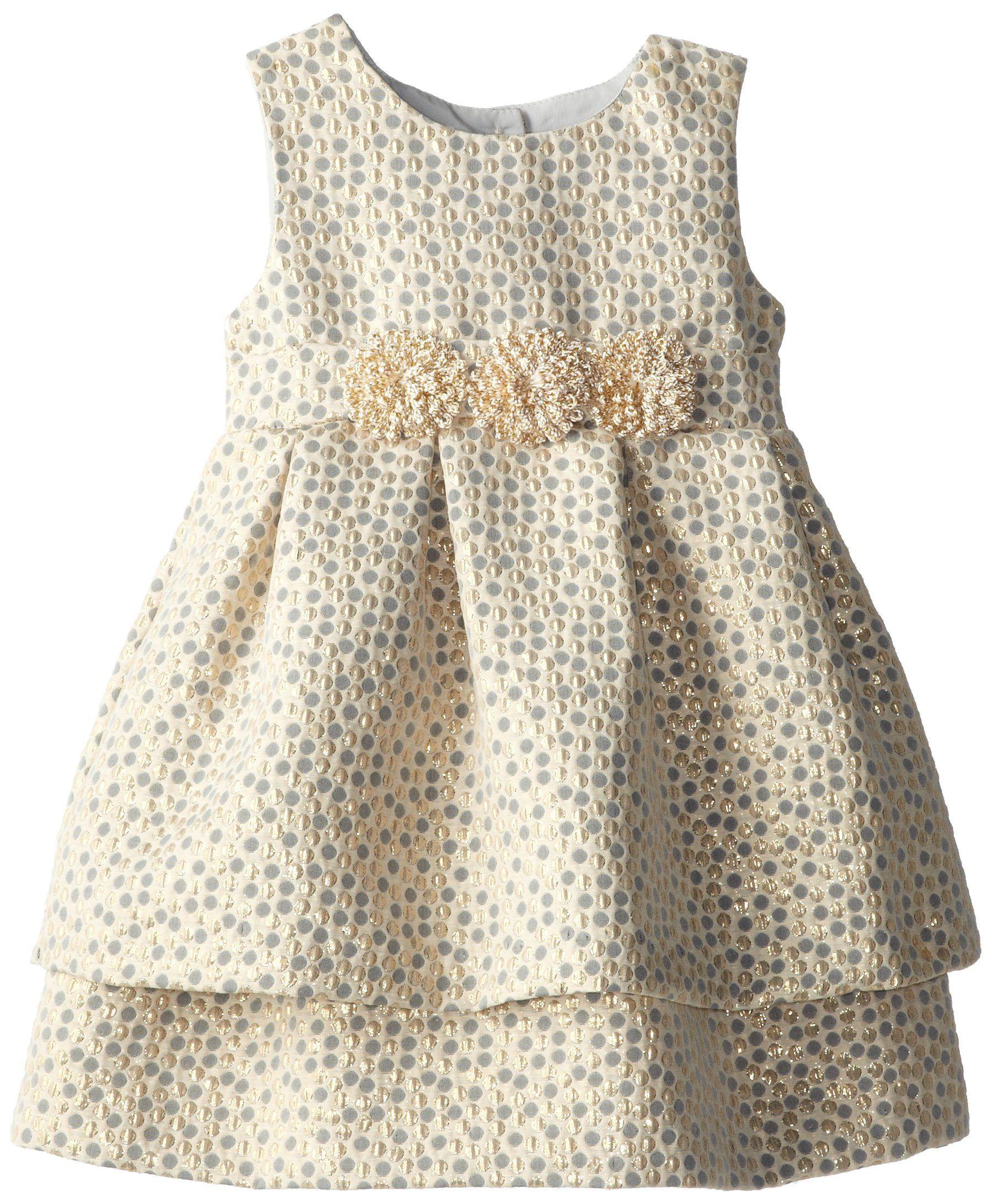fddb89f38bc0 Pippa   Julie Little Girls  Brocade Party Dress