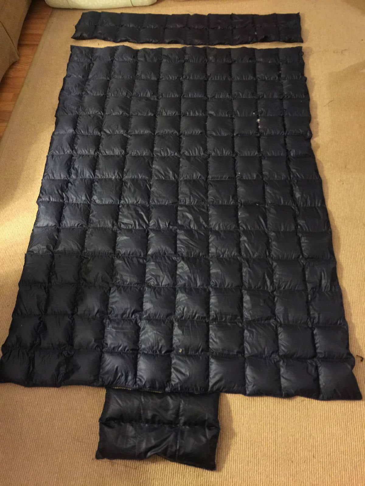 How to make a diy underquilt and topquilt in steps camping