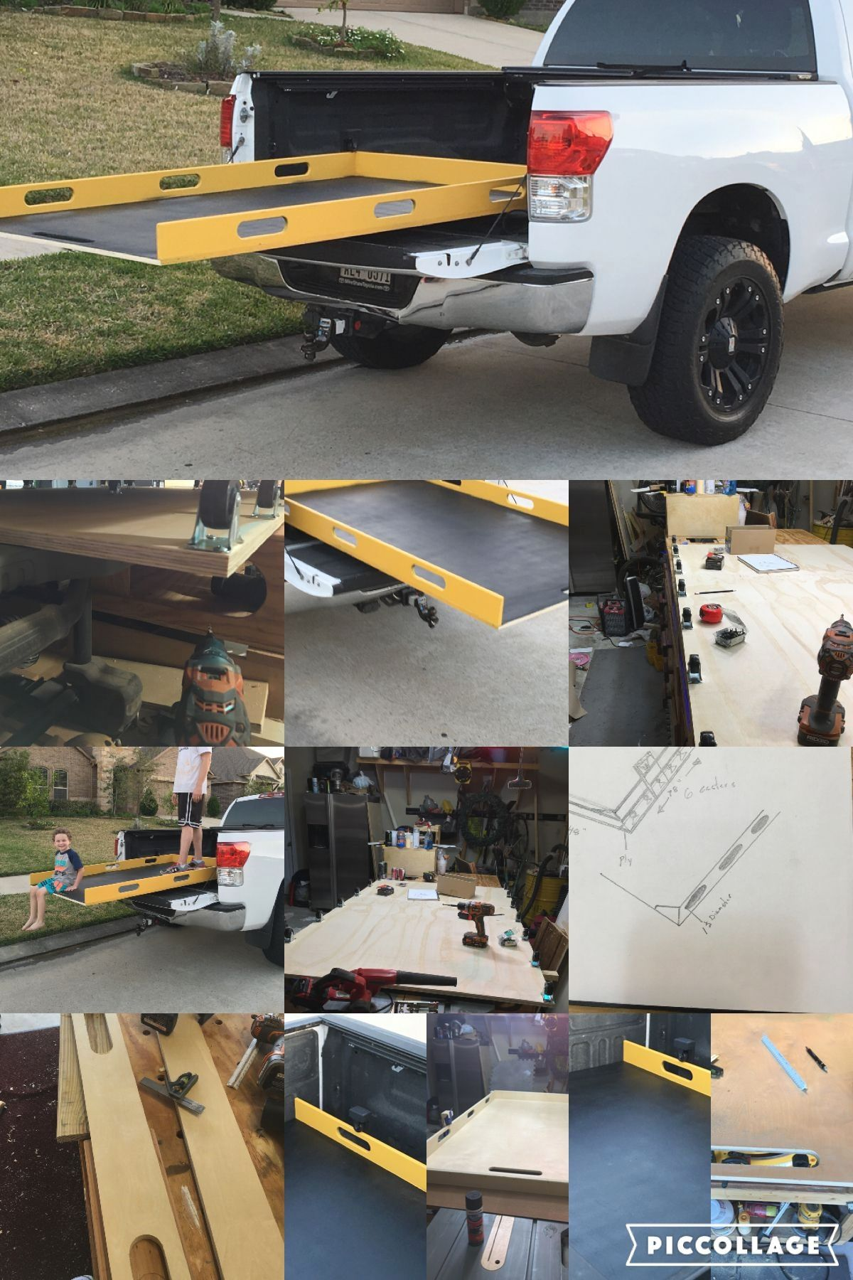 Pin by Bennie Bam on Drawer Systems in 2020 Truck bed slide