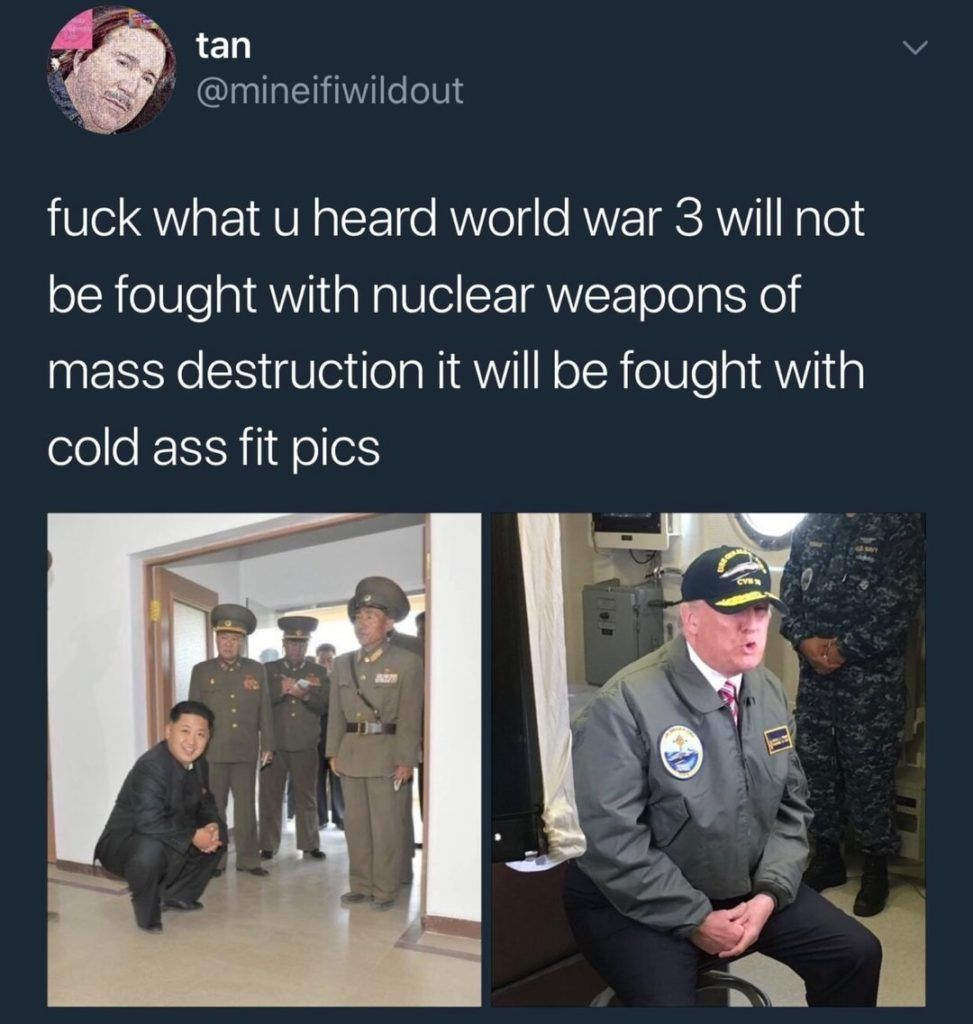 Kim Jong-un had to do it to em
