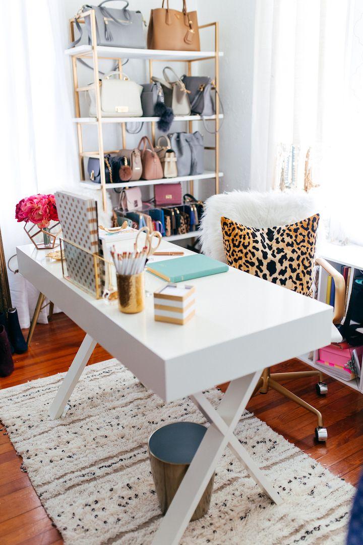 closet office space. Haute Off The Rack, Closet Organization, Office Closet, Space Ideas, T
