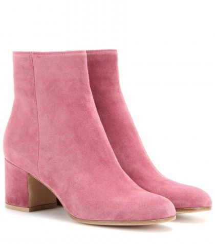Gianvito Rossi Ankle boots suede pink