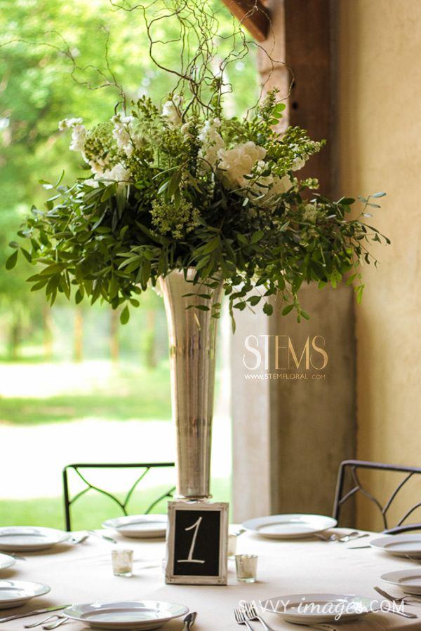 Silver Floor Vase