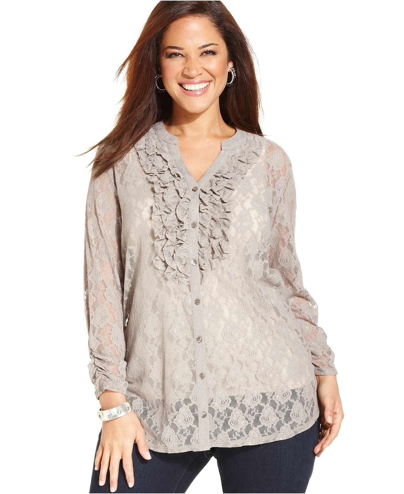 ef8841ba2f23f Style Plus Size Top