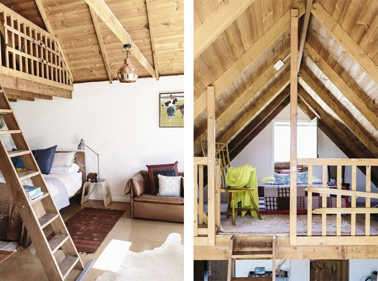 Flop House Attic Bedroom | © Tara Pearce | Est Magazine & Flop House Attic Bedroom | © Tara Pearce | Est Magazine | Home Sweet ...