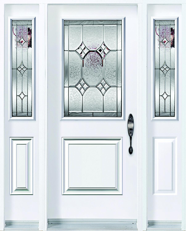 Windsor Caming Zinc Slab Square Top 2 Panel Glass Size 8x36 Sidelite 22x36 Door Steel Doors Elegance Series Koh Glass Door Doors Steel Doors