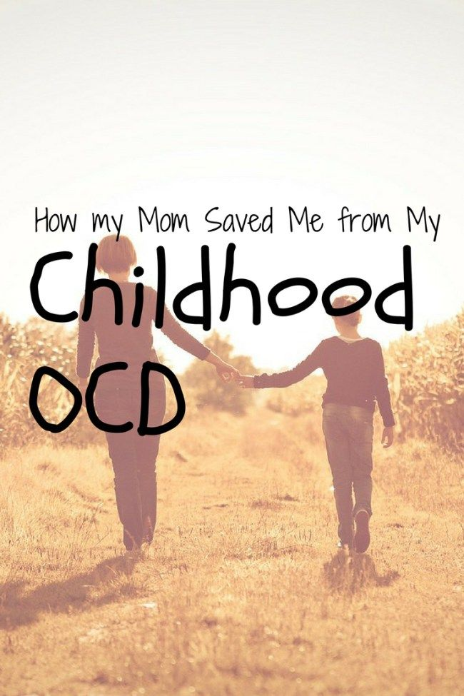 OohBother | How My Mom Saved Me from My Childhood OCD