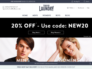 Tokyo Laundry Coupon Promo Codes On July 2019 Coupon Deer