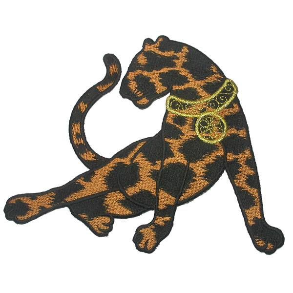 $3.00 * #IronOnPatch Applique - Large Panther with Collar