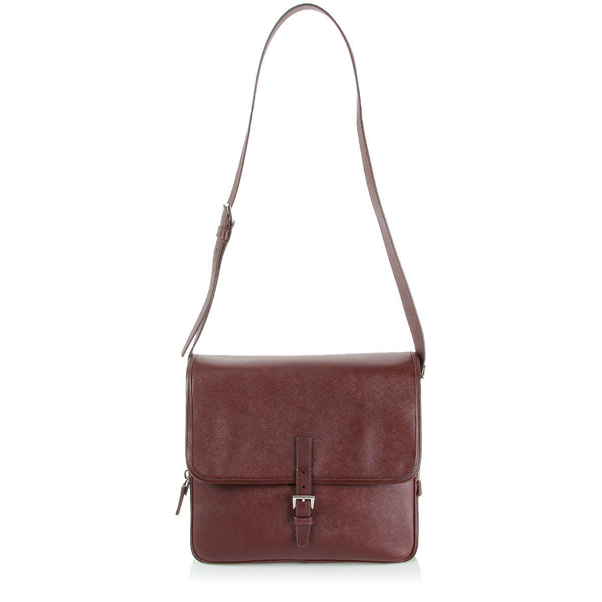 4e8826cfbbf3 Prada shoulder leather bag with flap [Art.