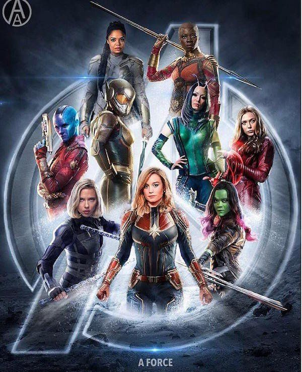 Marvel Fans Made An All-Female Movie Poster, And Its Awesome