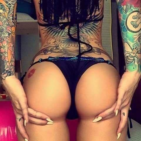 tattoos Sexy ass girls with