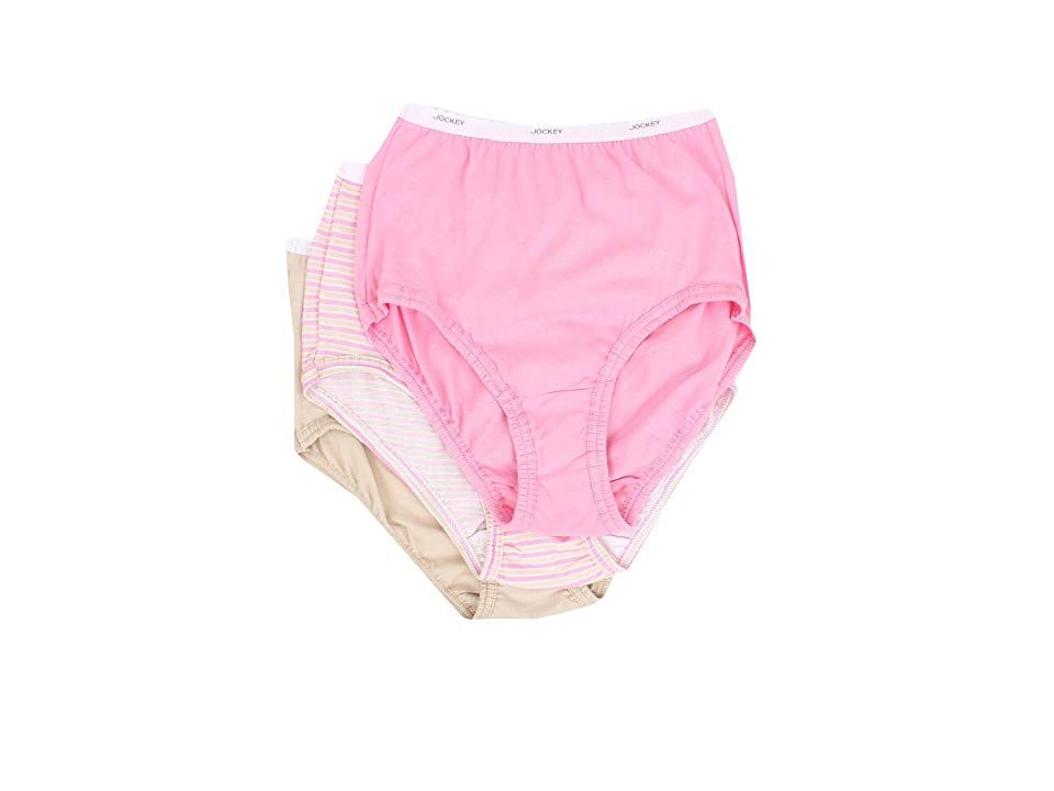 07f67ebbf70 ... Stripe Pink Egyptian Scroll) Women s Underwear. A Jockey favorite. Full-coverage  brief is fabricated from comfortable combed cotton. Classic fit.