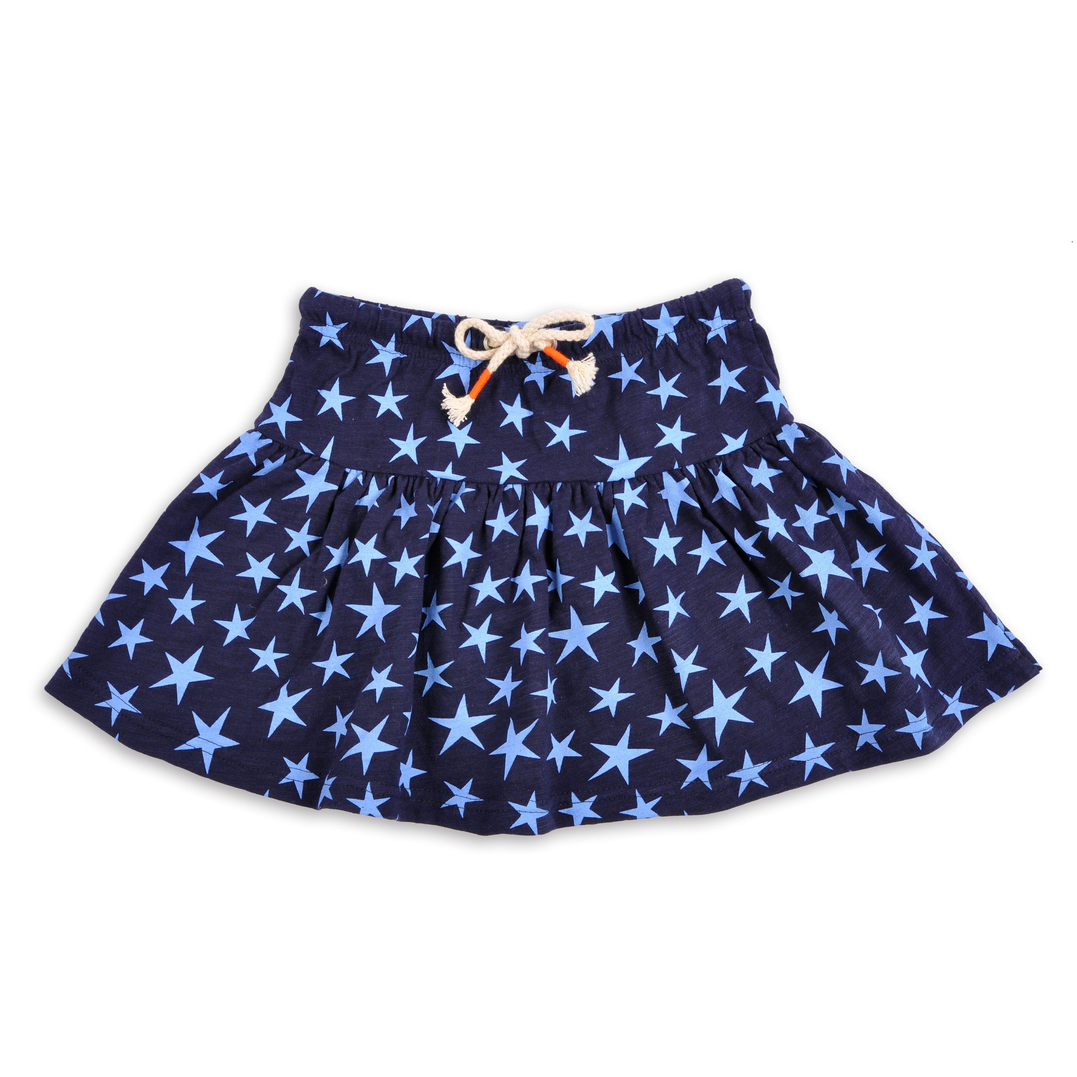 8a86b2659 Falda navy con estrellas para niñas - EPK | infantil | Faldas ...