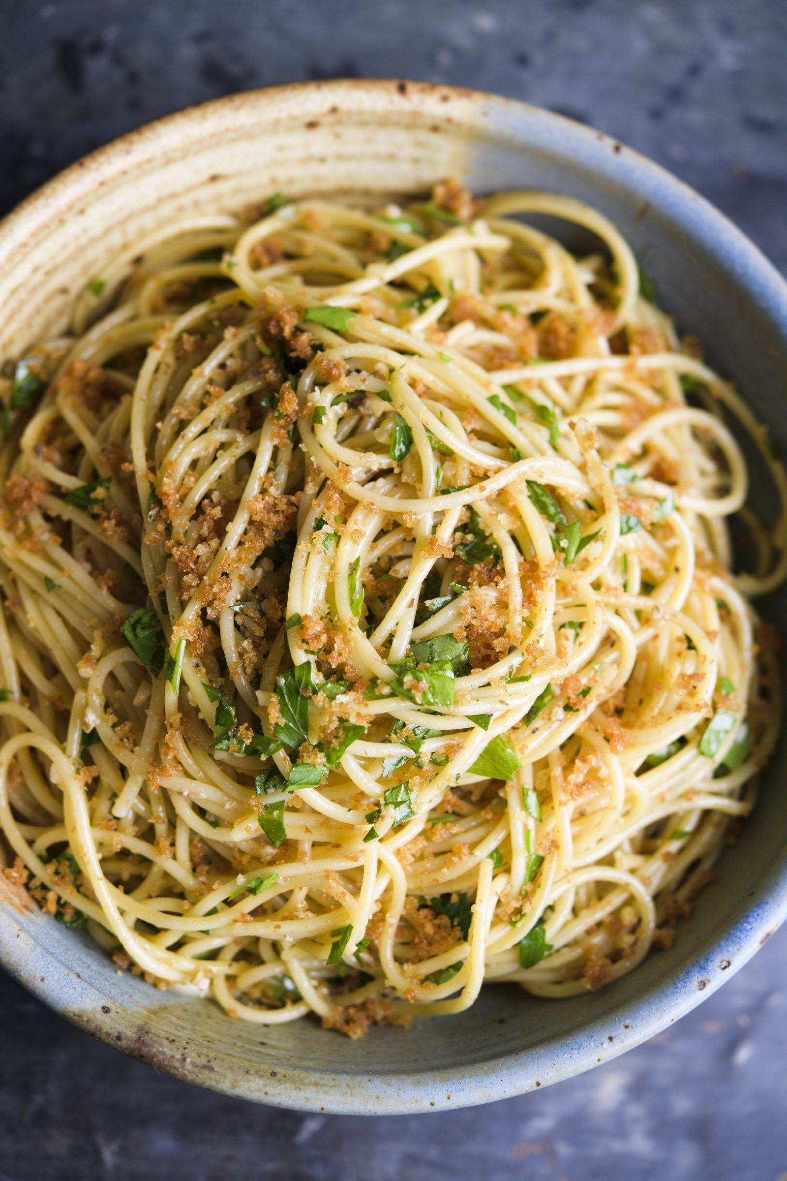 Spaghetti With Anchovies Pine Nuts And Raisins Recipe Vegan Pasta Recipes Anchovies Vegetarian Recipes Healthy