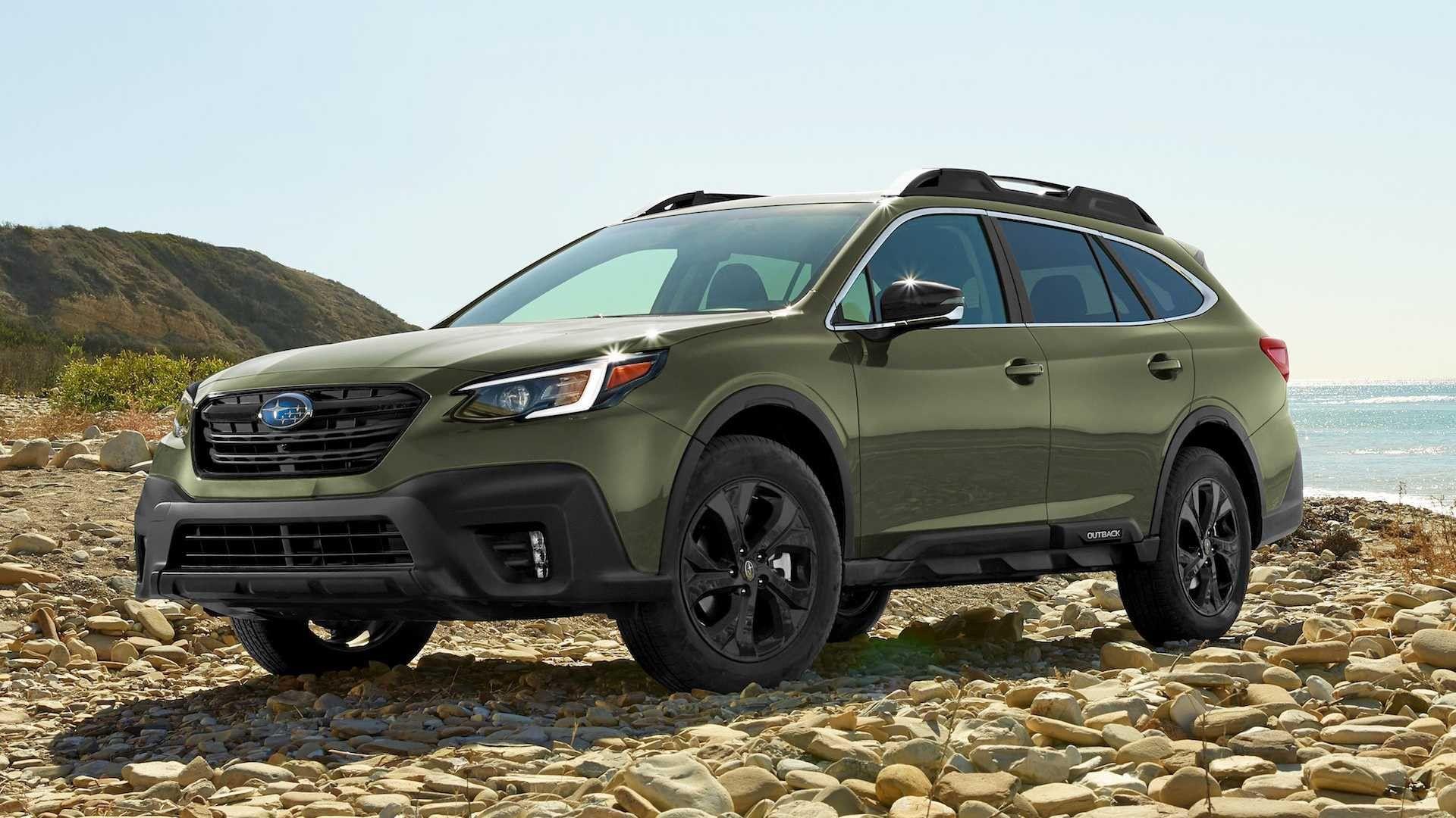 2020 Subaru Outback Global Platform Review in 2020