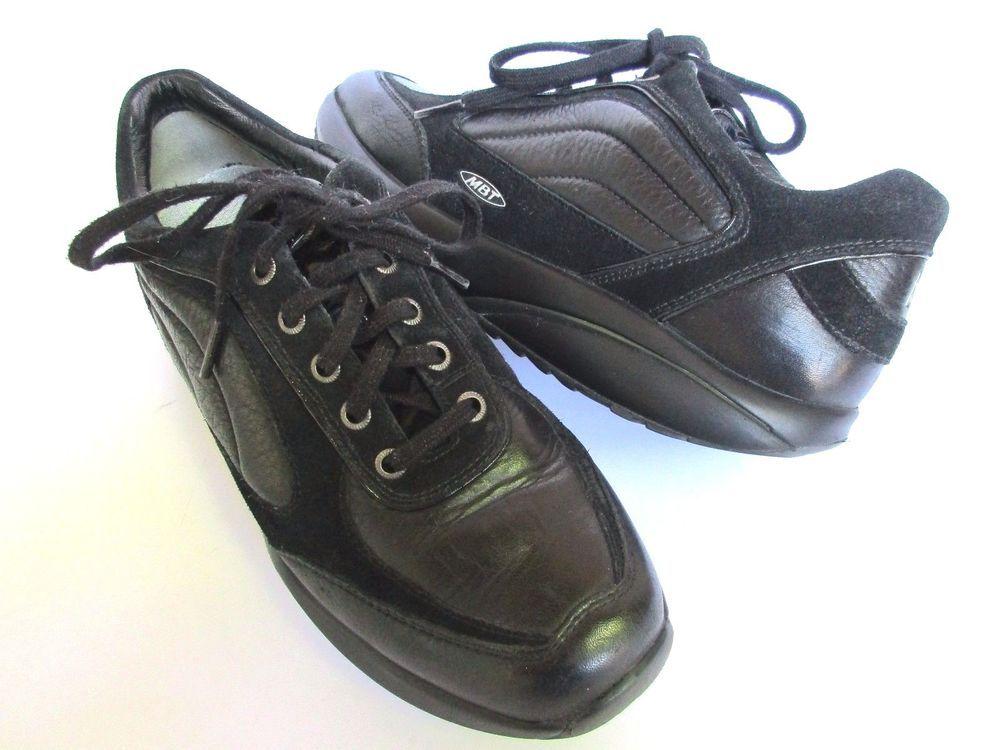 MBT women shoes s size 9 Black Leather #MBT #Comfort