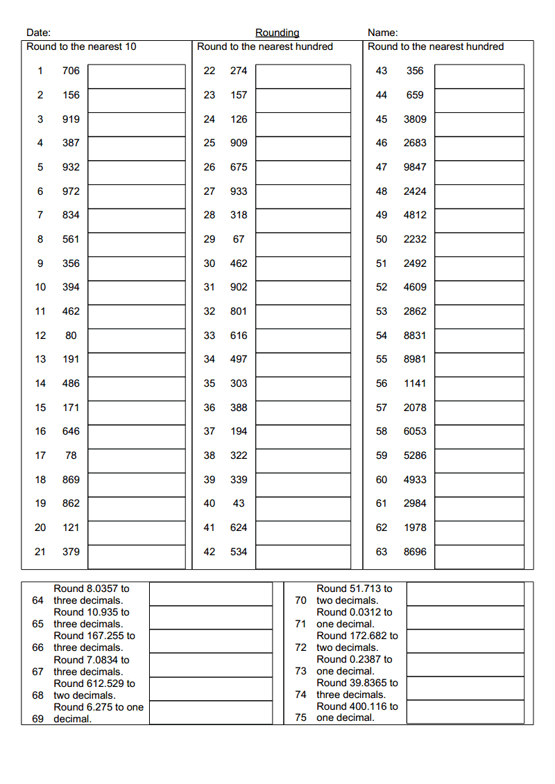 Rounding Whole Numbers And Decimals Doc Google Drive Rounding Whole Numbers Elementary Resources Classroom Lessons [ 1131 x 800 Pixel ]