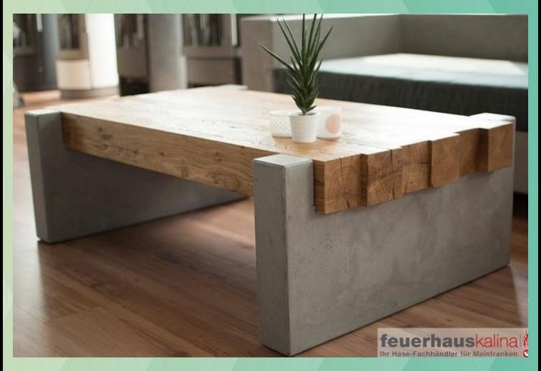 Betontisch Beton Tisch Couchtisch Aus Beton Maintisch Diy Wohnzimmer Dekoration Selber Machen In 2020