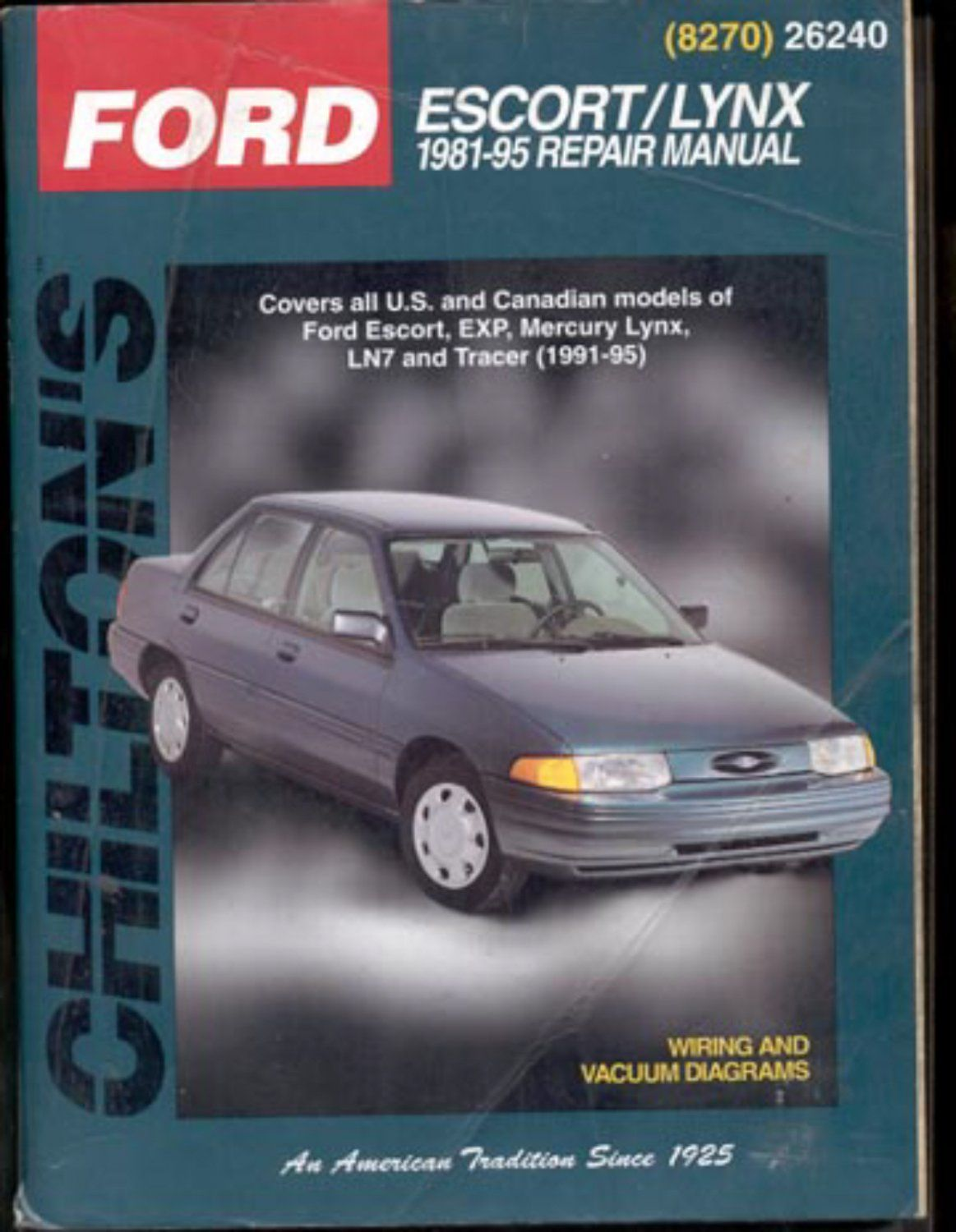 chilton s ford escort lynx 1981 95 repair manual books and rh pinterest com Ford 3000 Tractor Manual Ford 600 Manual