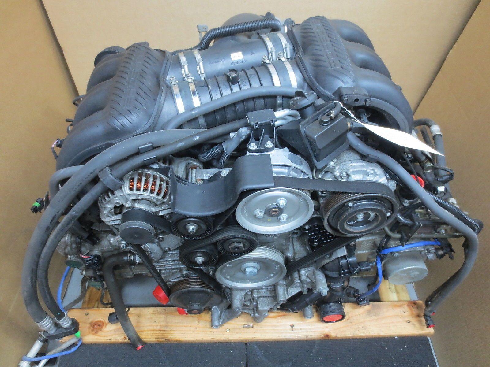 05 porsche 987 boxster 2 7 complete engine motor 2. Black Bedroom Furniture Sets. Home Design Ideas