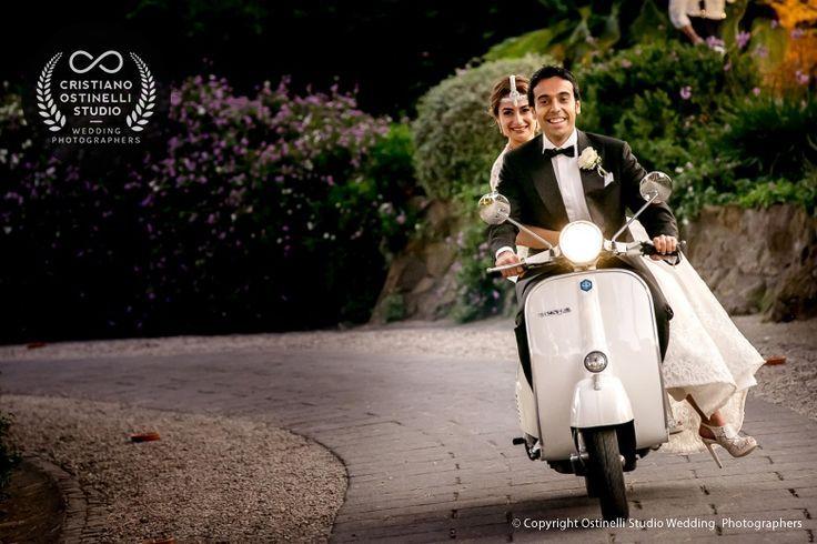 vespa vintage wedding