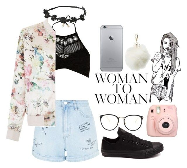 Flower Power by love2sagittarius ❤ liked on Polyvore featuring River Island, New Look.