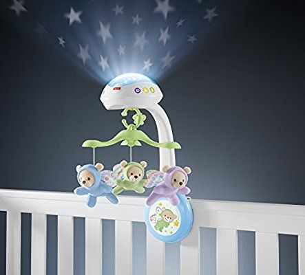 Fisher Price Erfly Dreams Projection Mobile Playset