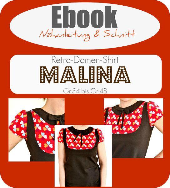 ebook MALINA - Ebook - Schnittmuster und Anleitung als Pdf Datei, versandkostenfrei!