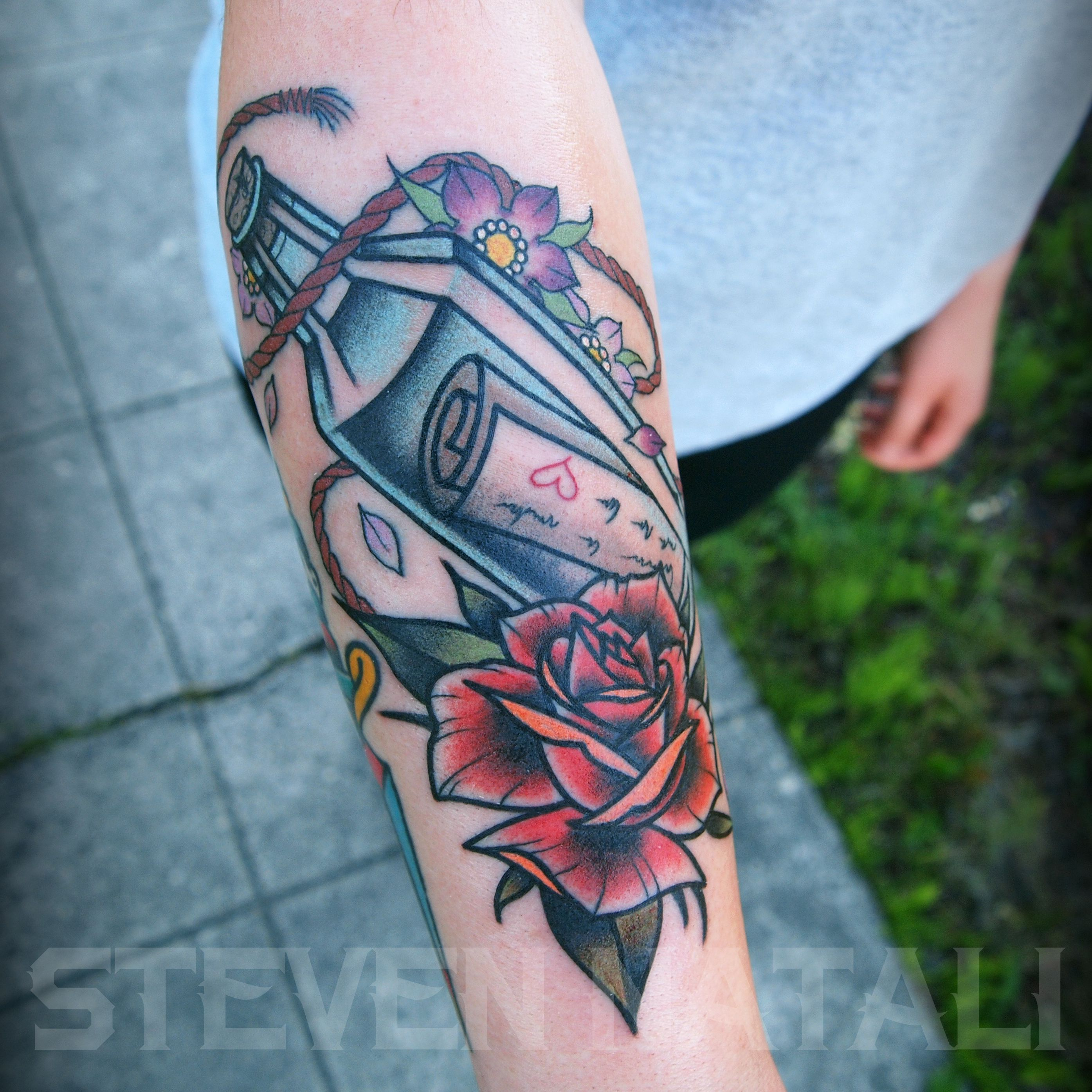 Custom Traditional Message In A Bottle By Steven Natali At Sacred